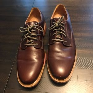 Cole Haan Grand OS Oxblood Plaintoe Oxford